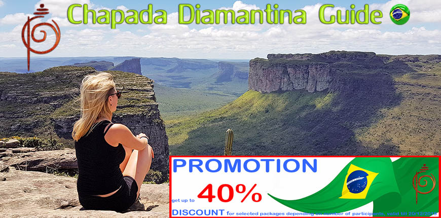 Ivan Salvador da Bahia & Chapada Diamantina guide : promotion Chapada Diamantina 1 day flash visit