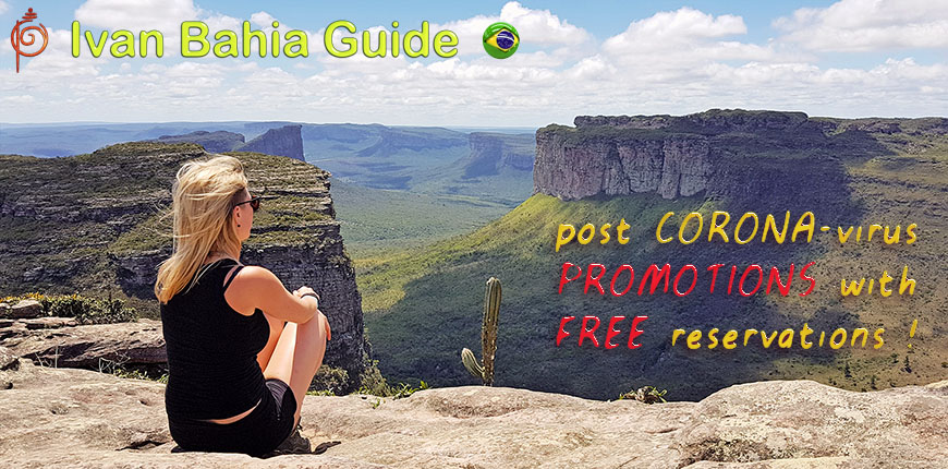 Exceptionnal promotions for visiting Chapada Diamantiana national park with Ivan Salvador da Bahia & official tour guide : up 25% discount depending on number of participants (min.2) for the same activity / #ivanbahiabuide #ibg #bresil #brazil #brazilie #bresilessentiel #brazilessential #toursbylocals #gaytravelbrazil #fotosbahia #bahiatourism #salvadorbahiatravel #fotoschapadadiamantina #fernandobingretourguide #braziltravel #chapadadiamantinatrekking #chapadaadventure #bahiametisse #bahiaguide #lencois #diamantinamountains #diamondmountains #valedopati #patyvalley #valecapao #bahia #lençois #morropaiinacio #cirtur #chapadaadventuredaniel #chapadaroots #chapadasoul #diamantinatrip #chapadadiamantinaguide #chapadadiamantina #valedocapao #viapati #discoverbrazil #brasilienadventure #chapadadiamantinanationalpark #zentur #theculturetrip #coronavirus