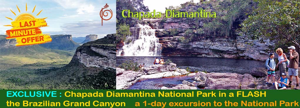 Chapada Diamantina National Park in a flash, a 1 day tour visit - Ivan Bahia Tour Guide & Travel Agency in Salvador, Brazil / Reis-gids, reis agentschap in Salvador da Bahia / #IvanBahiaGuide,#SalvadorBahiaBrazil,#Bresil,#BresilEssentiel,#BrazilEssential,#ChapadaDiamantina,#Brazilie,#ToursByLocals,#GayTravelBrazil,#IBG,#FotosBahia,#BahiaTourism,#SalvadorBahiaTravel,#FotosChapadaDiamantina,#fernandobingretourguide,#BrazilTravel,#ChapadaDiamantinaGuide,#ChapadaDiamantinaTrekking,#Chapadaadventure,#BahiaMetisse,#BahiaGuide,#diamantinamountains,#DiamondMountains,#ValedoPati,#PatyValley,#ValeCapao,#Bahia,#Lençois,#MorroPaiInacio