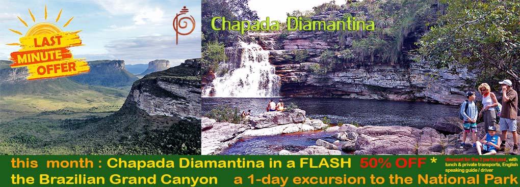 promotion-Ivan Bahia Guide Chapada Diamantina National Park - Brazilian Grand Canyon