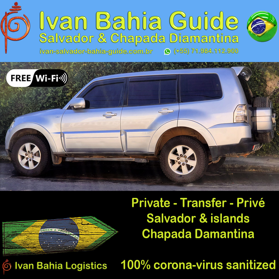 The best logistics travel agency in Salvador & Chapada Diamantina. We organize all your logistical needs here in Bahia. Transfer by private car & helicopters, 100% corona free sanitized vehicles. Hashtag #IvanBahiaGuide #IvanSalvadorGuide #BahiaFoto #BahiaTransfer #Bresil #BresilEssentiel #BahiaFlaneur #fernandobingretourguide #bahiametisse #BahiaGuide #SalvadorGuide #maurotours #TerraBrazil #Guidedetourismesalvadorbahiabresil #TripadvisorSalvador #tripadvisorbahia #BresilGuidee