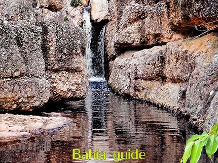 Beautiful waterfalls in Brazil while visiting Chapada Diamantiana national park with Ivan Salvador da Bahia & official tour guide