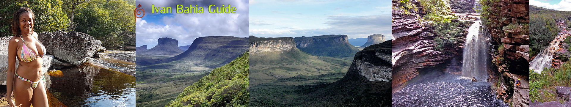 Ivan Bahia tour-guide / Chapada Diamantina National Park (aka 'the Brazilian Grand Canyon') mountain views, Canto das Aguas Hotel
