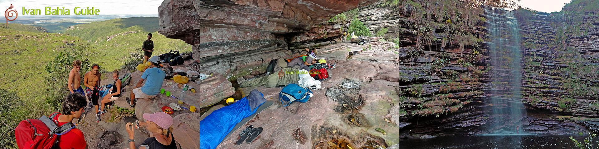 Ivan Bahia & Chapada Diamantina guide / les meilleurs trekkings a Chapada Diamantina Parc National (connu comme le 'Grand Canyon Brésilien') completement organisé pour vous, guide francophone possible