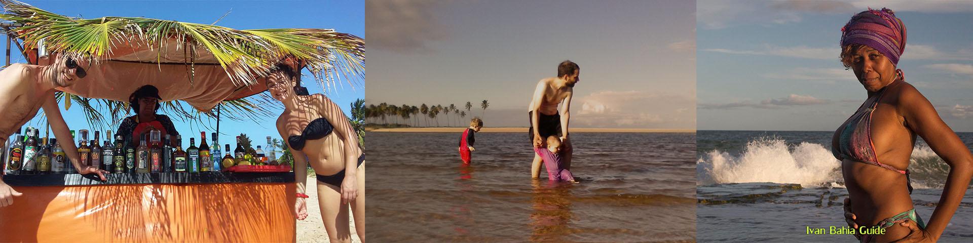 Ivan Bahia Guide - daytour Praia do Forte, Arembepe, Jacuipe aphrodisiac beaches