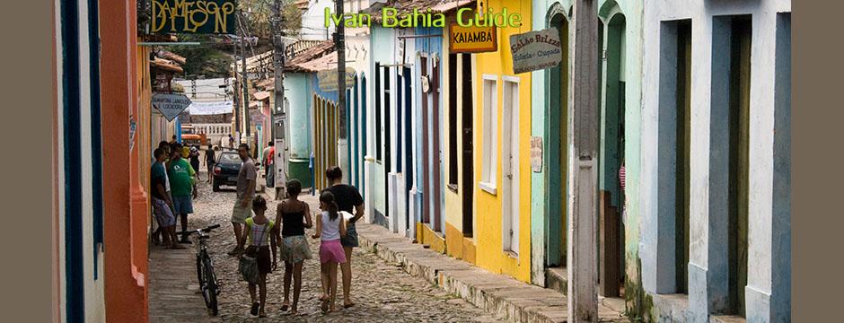 Spaziergang durch die bezaubernden gepflasterten Straßen von Lençois - Ivan Salvador & Bahia tour guide