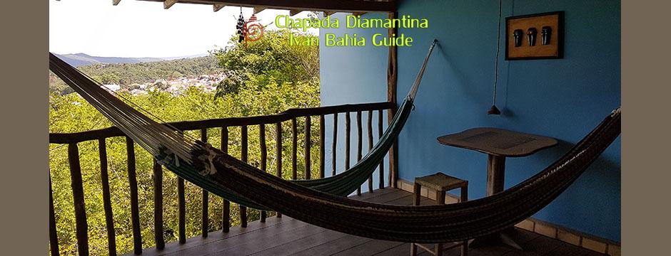 Après l'effort le repos dans le Parc National Chapada Diamantina avec Ivan Bahia Guide