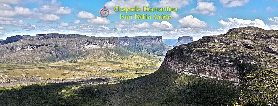 Sur le mont Pai Inaçio au Parc National Chapada Diamantina avec Ivan Bahia Guide
