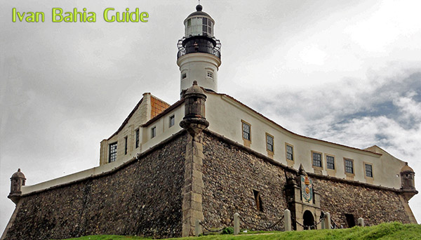 Farol de Barra lighthouse - with Ivan's Salvador da Bahia & Chapada Diamantiana national park's official tour guide