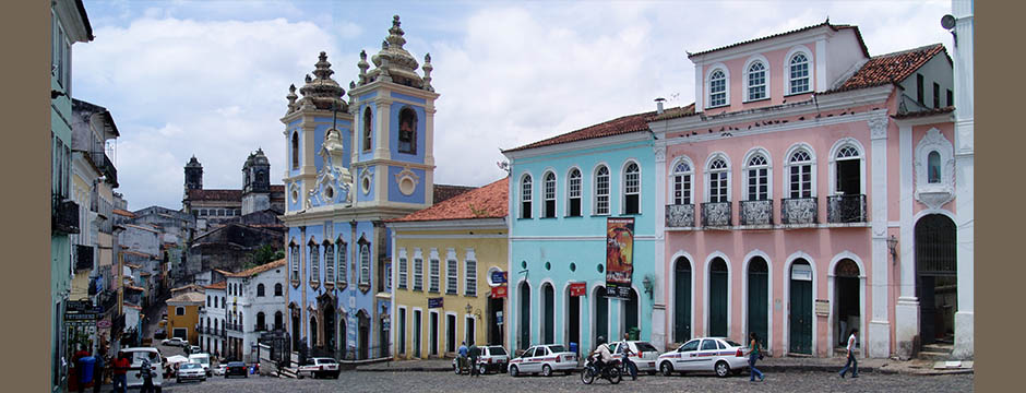 Blick vom berühmten Pelourinho PlatzView from the famous Pelourinho place