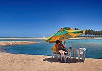 Droomstrand langs de Kokos-kust met Ivan Salvador & Bahia reis-gids / tour-guide