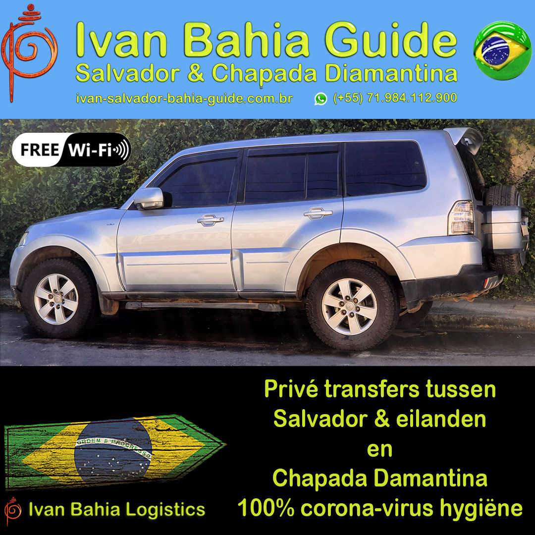 De beste logistieke reis-bijstand  in Salvador & Chapada Diamantina. Wij dragen zorg voor al uw logistieke noden hier in Bahia. Transfers met privé voertuig of helicopter, 100% corona ontsmette voertuigen. #IvanBahiaGuide #IvanSalvadorGuide #BahiaFoto #BahiaTransfer #Bresil #BresilEssentiel #BahiaFlaneur #fernandobingretourguide #bahiametisse #BahiaGuide #SalvadorGuide #maurotours #TerraBrazil #Guidedetourismesalvadorbahiabresil #TripadvisorSalvador #tripadvisorbahia #BresilGuidee