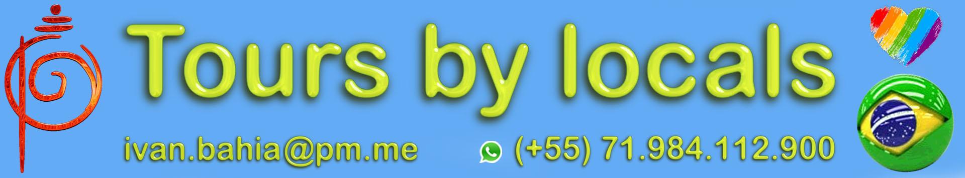logo Tours by Locals, discover Bahia with Ivan Bahia, travel agency in Salvador da Bahia, the original Capital of Brazil with TOP private tours & guides, your best experience (in English - Français - Nederlands) in Bahia, Chapada Diamantina National Park, All Saints Bay, Cachoeira, Recôncavo Baiano, Praia do Forte, Coconut coast and Bahia / NE-Brazil #ivanbahiaguide #ivansalvadorbahia #salvadorbahiabrazil #bahiatourism #fotoschapadadiamantina #ibg #ibtg #fotosbahia #salvadorbahiatravel #toursbylocals #ivanbahia #ibg #ibtg #chapadadiamantinatransfer #chapadadiamantina #chapadaexperience #lencoistomorrodesaopaulo #voyagebresil #bresilessentiel #salvadortourguide #chapadadiamantinatrekking #lencois #lençois #toursbahia #brazilhoneymoon #yourtourbrazil #yourtoursbrazil #ig_bahia #bahiatours #reconcavobaiano #bahiaguide  #citytoursalvador #bahiametisse #guidedetourismesalvadorbahiabresil #transatjacquesvabres #sailingbrazil #yourtoursbrazil #maurotours #bahiatopturismo #gaytravelbrazil  #transfersalvador #morrodopaiinacio #FotosChapadaDiamantina #BahiaTourism #SalvadorBahiaBrazil #lgbtqfriendly #SalvadorBahiaTravel #tripadvisorsalvador #tripadvisorbahia #gaystraveltoo #toursbahia #bahiatravel #salvadortourguide #travelaftercovid19 #ssalovers