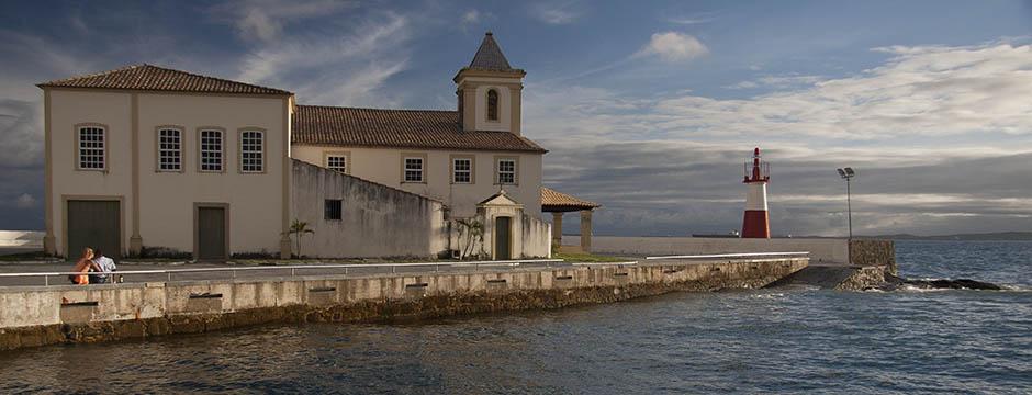 Ivan Bahia Guide in Salvador, Monte Serrat Monastery