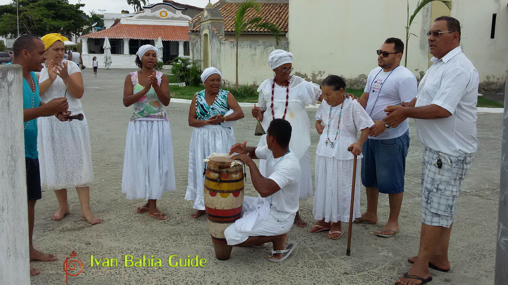 Ivan Bahia Guide, intimate Candomblé ceremonial