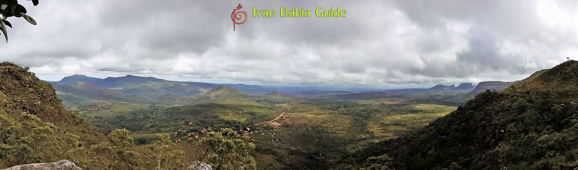 Ivan Bahia tour-guide / hiking in Chapada Diamantina National Park (aka 'the Brazilian Grand Canyon') mountain views