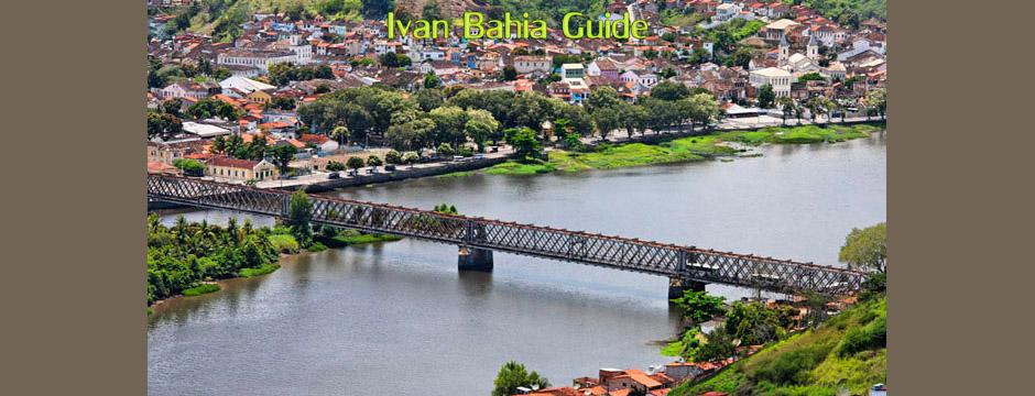 Une entrée inattendue, hors chemins battus, dans la ville de Cachoeira, à découvrir avec Ivan Bahia Guide